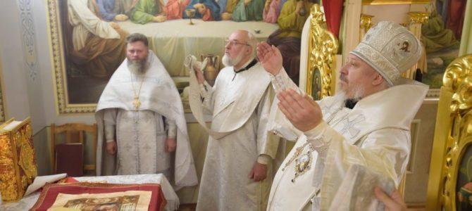 Божественная литургия в понедельник седмицы 35-й по Пятидесятнице