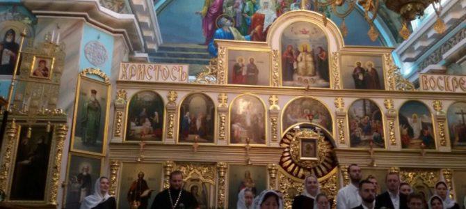 Состоялся   концерт духовных песнопений  посвященный празднику  Покров Пресвятой Богородицы и Дню матери