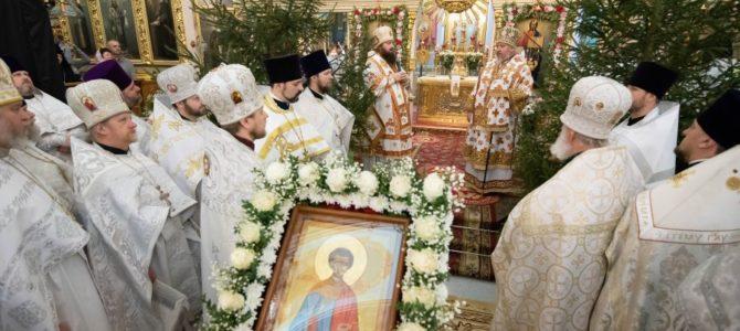Торжества, посвященные дню памяти ап. первомч. и архидиакона Стефана
