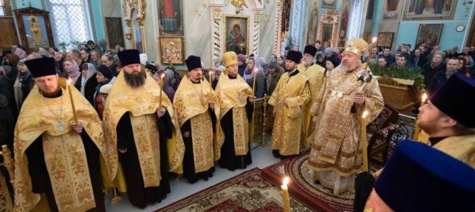 Всенощное бдение в канун Недели 1-й Великого поста, Торжества Православия